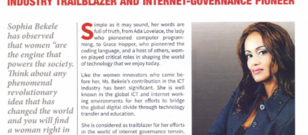 "IBCA Founder Named, ""Industry Trailblazer and Internet-Governance Pioneer"" by CIO E.A"